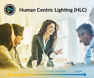 Human Centric Lighting in Office Space