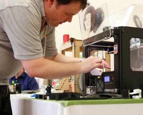 Rapid 3D Printing Prototype Machine