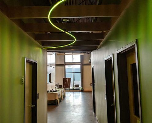 LEDdynamics Hallway & RGB LED Light Fixture