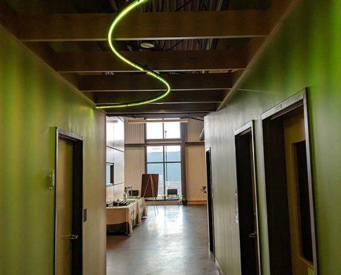 LEDdynamics Hallway & RGB LED Light Fixture