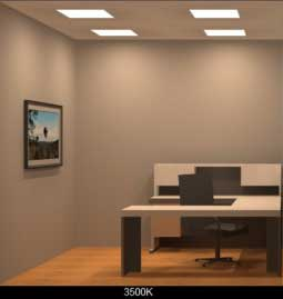 Tunable White LED Office Lighting 3500K