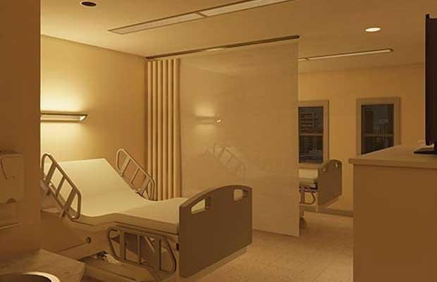 Tunable Warm-White LED Hospital Lighting