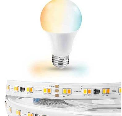 Tunable White LED Bulb & Strip