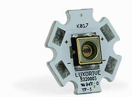 Nichia UV-C LED Light Module from LUXdrive