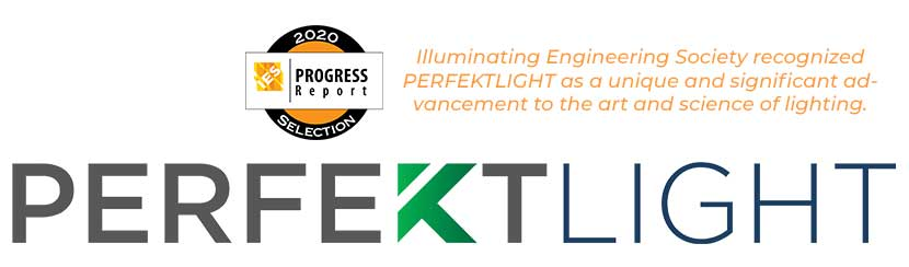 PERFEKTLIGHT Recognized by IES Progress Report