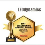 Electronics Manufacturer Award to LEDdynamics