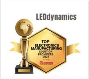 Electronics Manufacturer Award to LEDdynamics