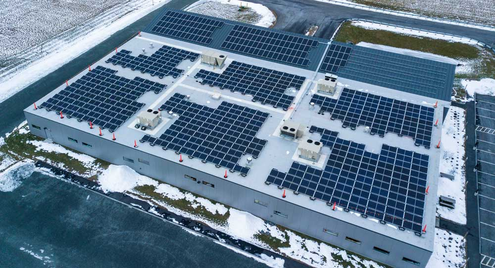 LEDdynamics Solar Powered LED Technology Facility